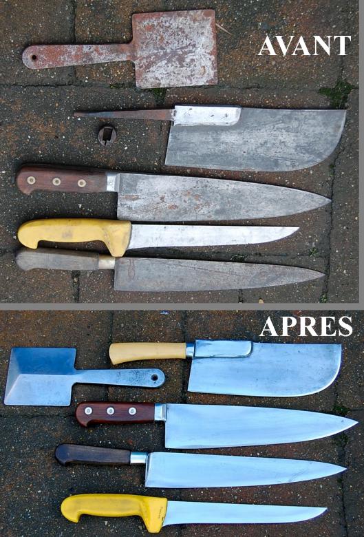 grand chef, couteaux de cuisine forgé