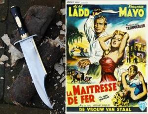 iron mistress, la maitresse de fer, couteau forgé