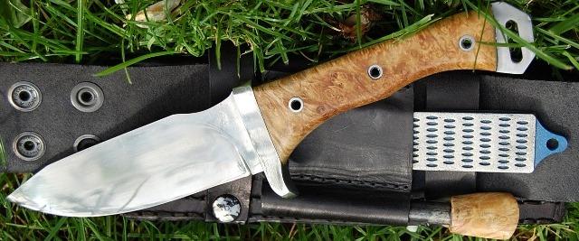 Couteau buschraft survie