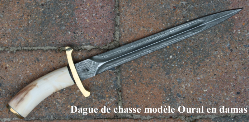 Dague Oural en damas