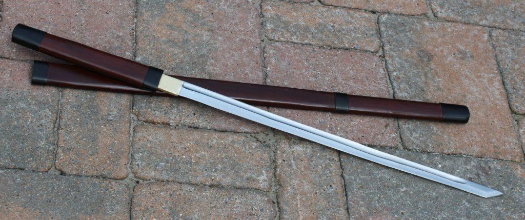 canne épée forgée