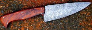 couteau de cuisine forgé