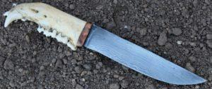 bowie, native, couteau damas