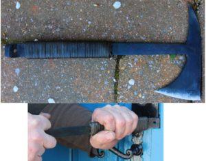 Tactical tomahawk , tomahawk forgé